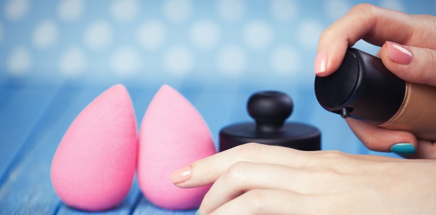 Houbička na make-up Beauty blender