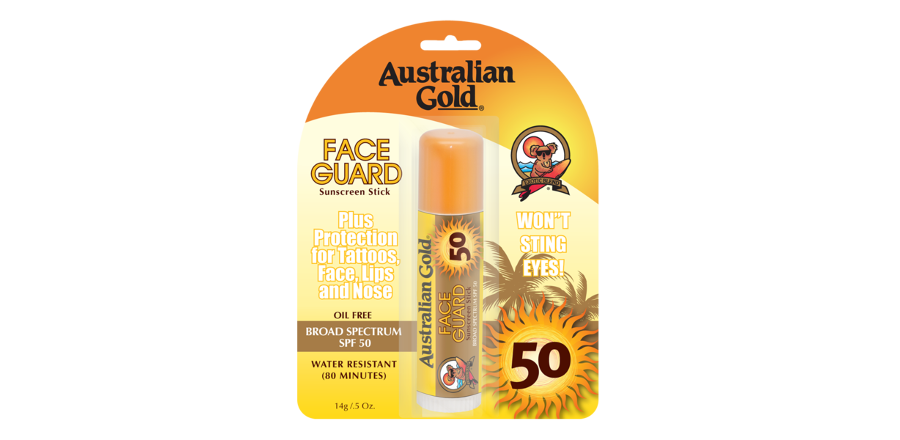 Australian Gold Face Guard Stick, SPF 50