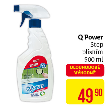 Q power stop plísním,  500ml