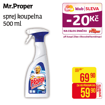 Mr. Proper - Sprej koupelna 500ml