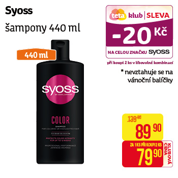 Syoss - Šampony 440ml