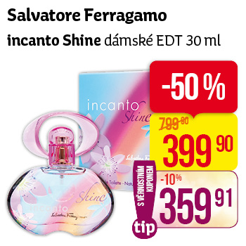 Salvatore Ferragamo incanto Shine, dámské EDT 30 ml