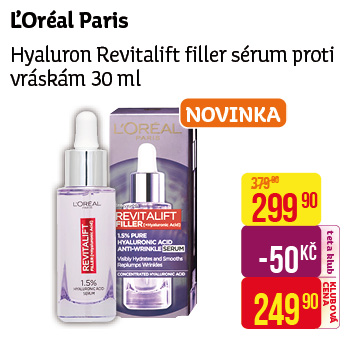L'Oréal Paris - Hyaluron revitalift filler sérum
