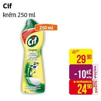 Cif - krém (250 ml)