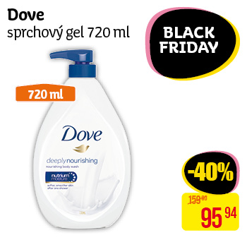 Dove - sprchový gel 720 ml