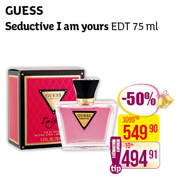 Guess - Seductive I am yours EDT 75 ml