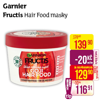 Garnier - Hair food masky