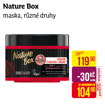 Nature Box maska 200ml Pomegranate