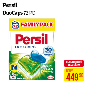 Persil - Duo-Caps (72 PD)