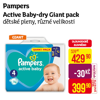 Pampers - Active Baby-Dry