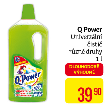Q power univ čistič 1l citrus