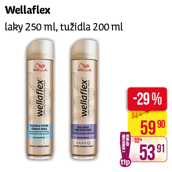 Wella - Wellaflex laky 250ml, tužidla 200ml