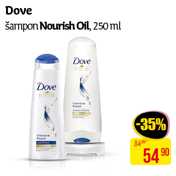 Dove - Šampon Nourish Oil, 250ml