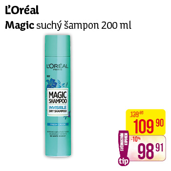 L'Oréal - Magic suchý šampon (200 ml)