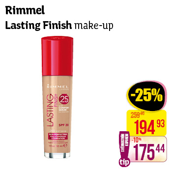 Rimmel London - Lasting finisg make-up