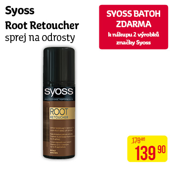 Syoss - Root retoucher sprej na odrosty