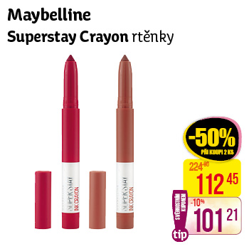 Maybelline New York - Superstay Crayon rtěnky