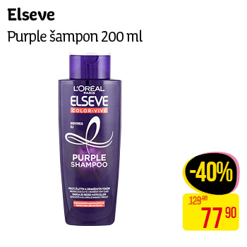 L'Oréal Paris - Elseve Purple šampon 200ml