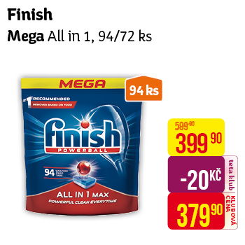 Finish - Mega All in One 94/72ks