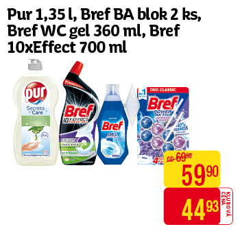Pur - 1,35ml, Bref BA blok 2ks, 10x Effect