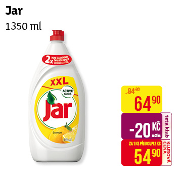 Jar 1350ml Pomegranate