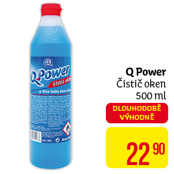 Q Power - čistič oken 500 ml