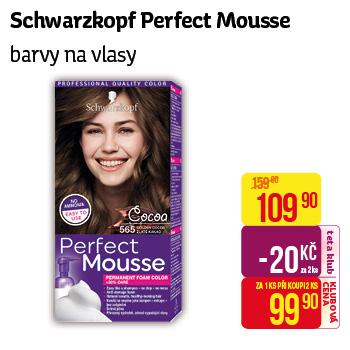 Schwarzkopf - Perfect mousse barvy na vlasy
