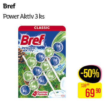 Bref - Power aktiv 3ks