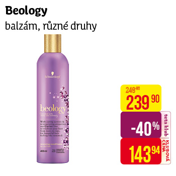 Beology vlas. balzám 400ml Caviar