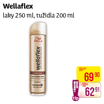 Wellaflex - laky (250 ml) a tužidla (200 ml)