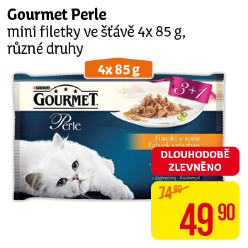 Gourmet Perle mini filetky ve sťávě 4x 85g