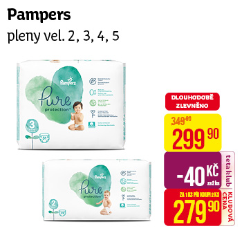 Pampers - Pure pleny