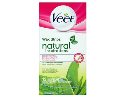 Veet Voskové pásky Natural Inspiration Wax Strips