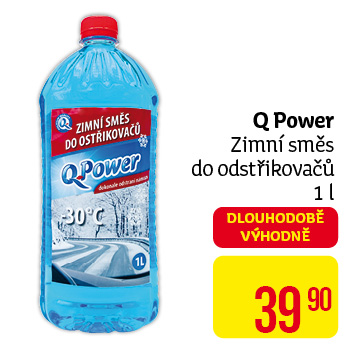 Q Power nemrz.směs -30C do ostřik. 1L