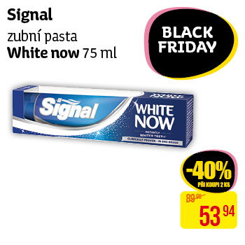 Signal - zubní pasta White Now (75 ml)