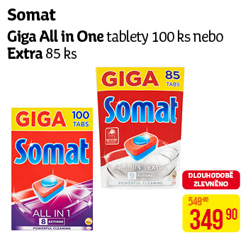 Giga All in One tablety 100ks nebo Extra 85ks