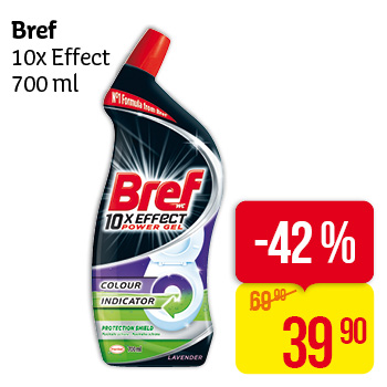 Bref 10x Effect 700 ml