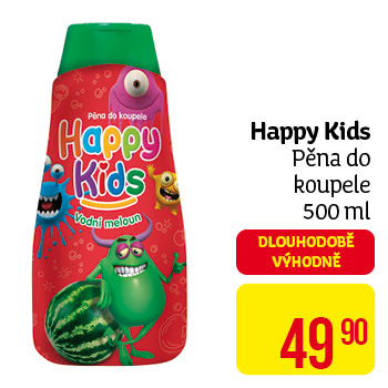 Happy Kids - pěna do koupele 500 ml