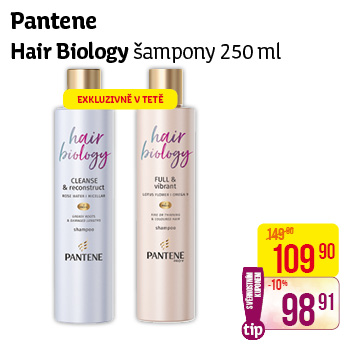 Hair Biology - šampony (250 ml)