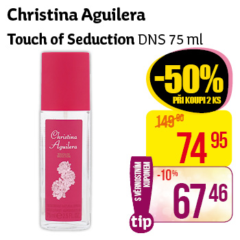 Christina Aguilera, Touch of Seduction DNS 75 ml