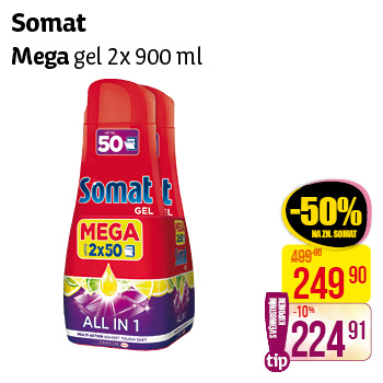 Somat - Mega gel 2x900ml
