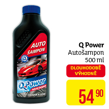 Q power autošampon 500ml