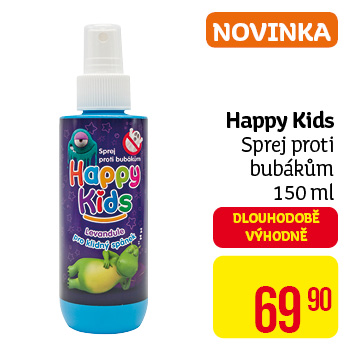Happy Kids - sprej proti bubákům 150 ml