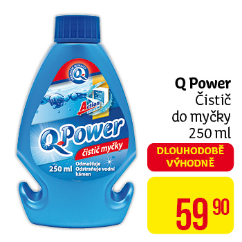 Q Power - čistič do myčky 250 ml